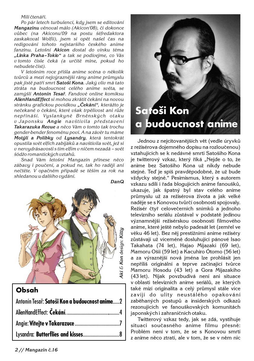 Mangazín č. 16 – str. 2